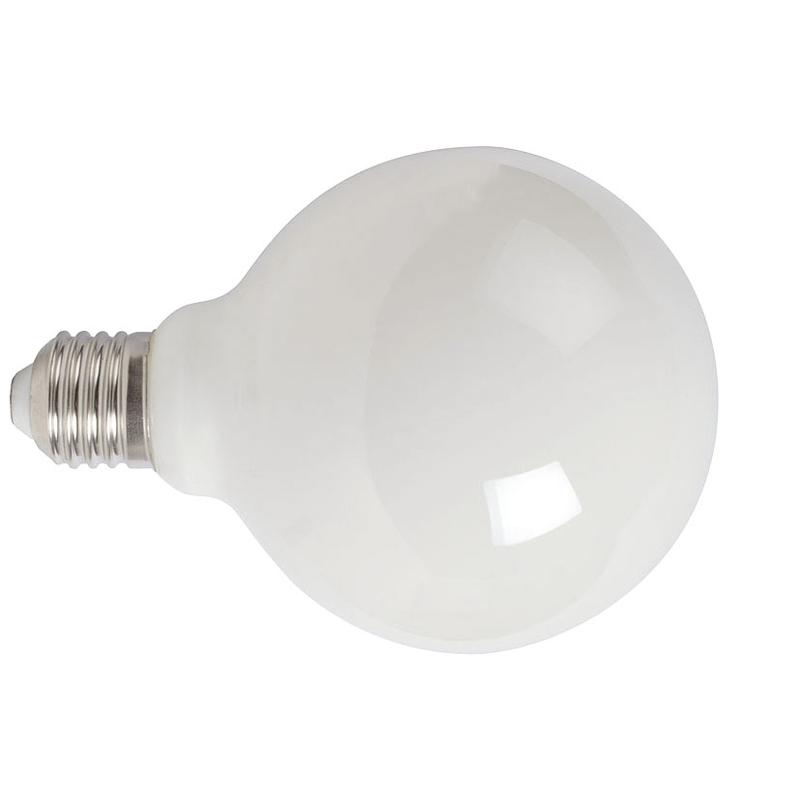 Bombilla con filamento LED globo G95 opal DUOLEC E27 luz cálida 8W