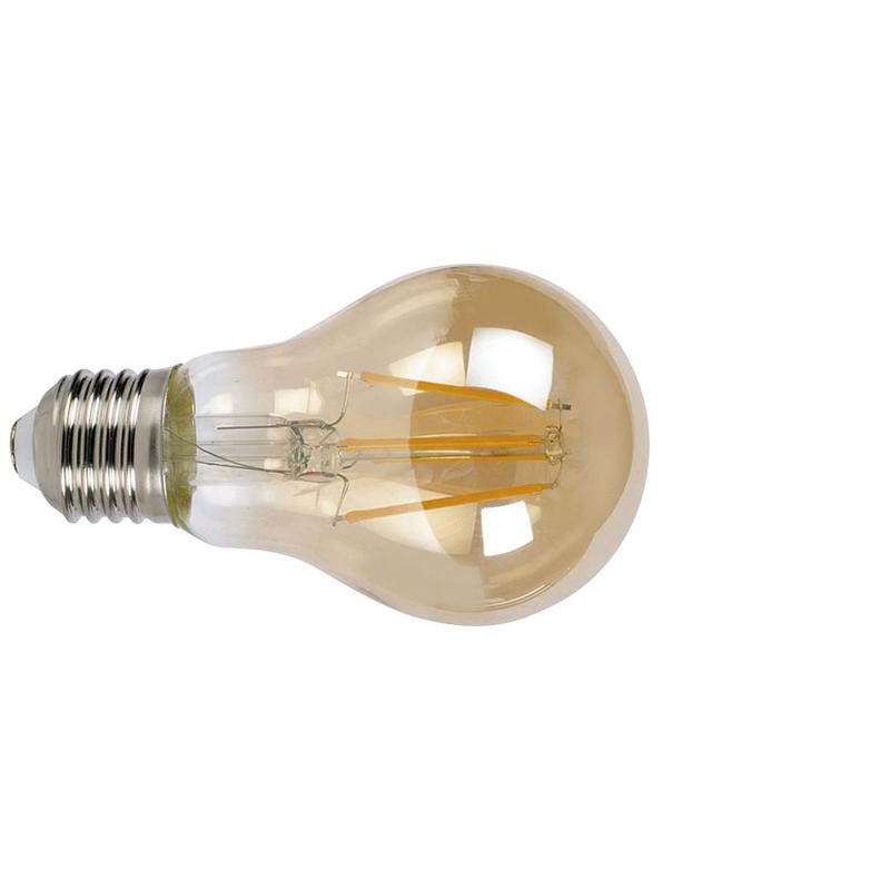 Bombilla con filamento Led estándar vintage DUOLEC E27 luz cálida 6W
