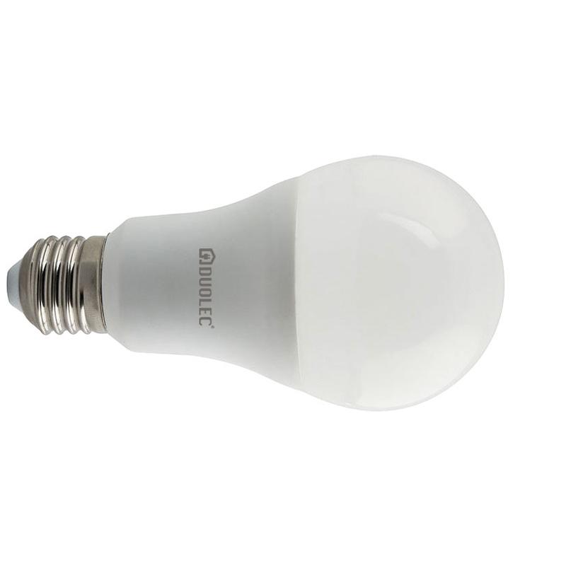 Bombilla LED estándar DUOLEC E27 luz día 10W
