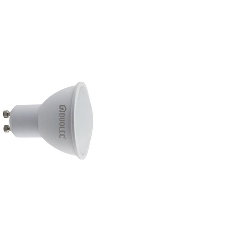 Bombilla LED dicroica 110º DUOLEC GU10 luz día 6W