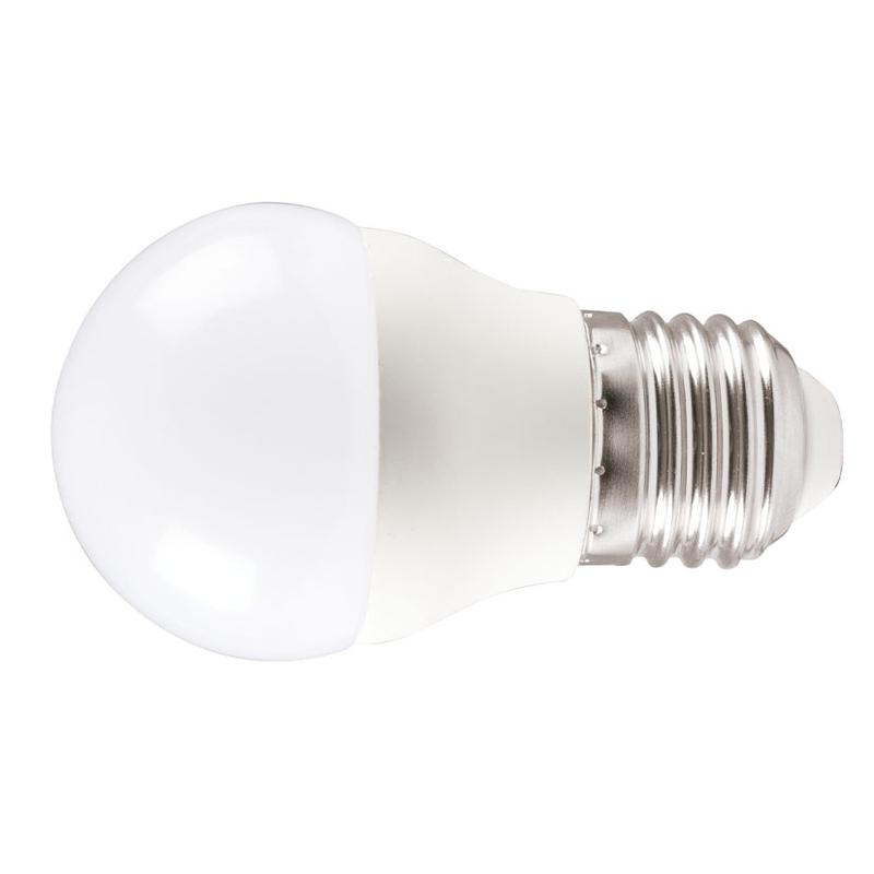 Pack 3 bombillas LED Mini Globo DUOLEC E27 luz cálida 5W