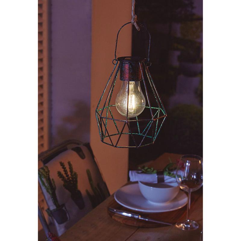 Lámpara solar decorativa SIMON BRICO Dusseldorf