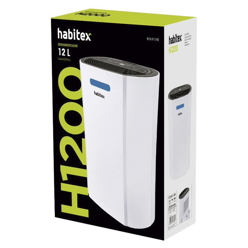 Deshumidificador HABITEX H-1200