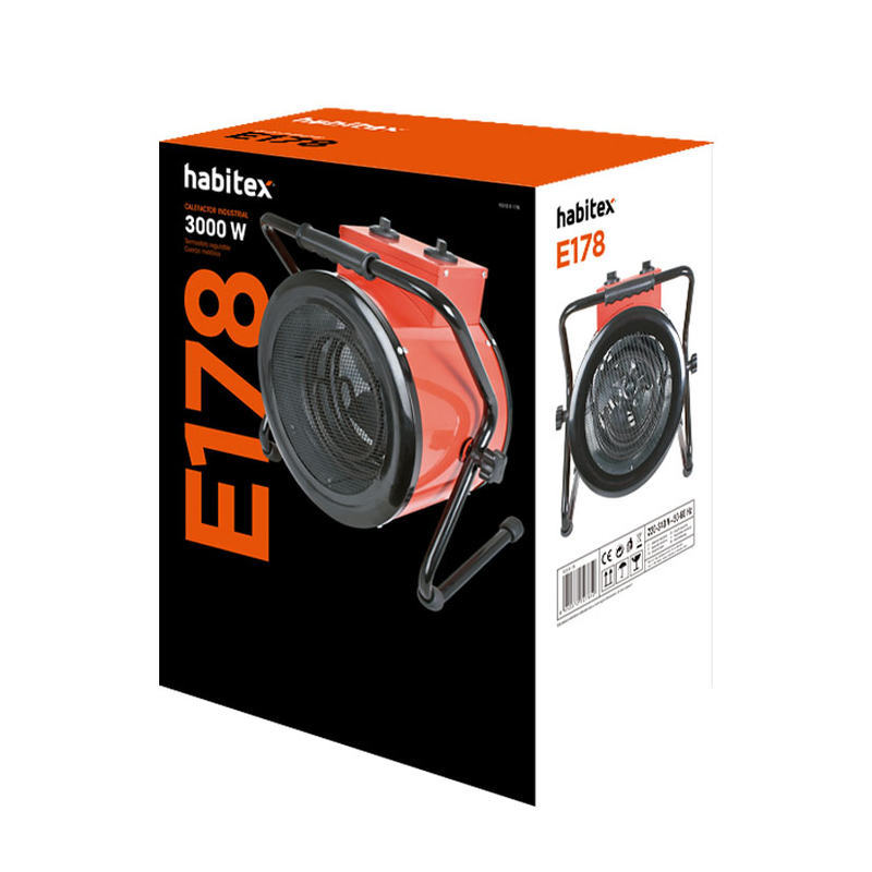 Calefactor industrial E178 HABITEX