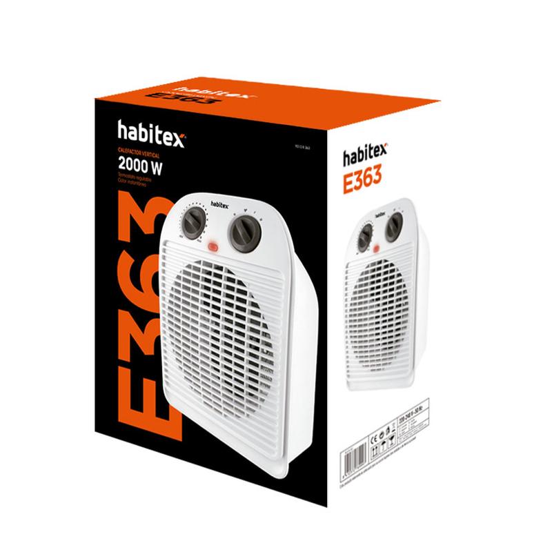 Termoventilador HABITEX E363 2000 W