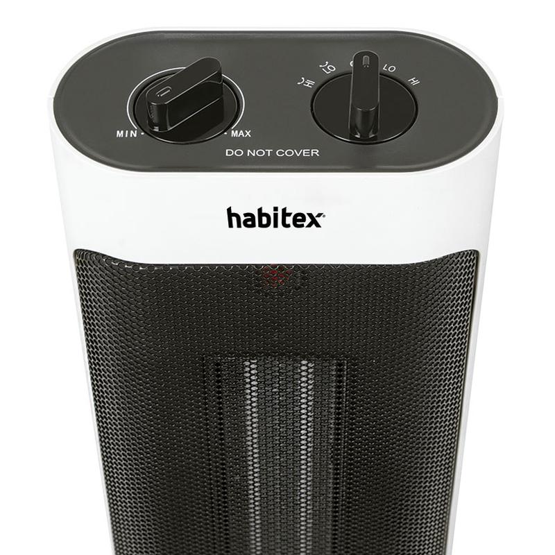 Calefactor cerámico torre HABITEX HQ375 2000W