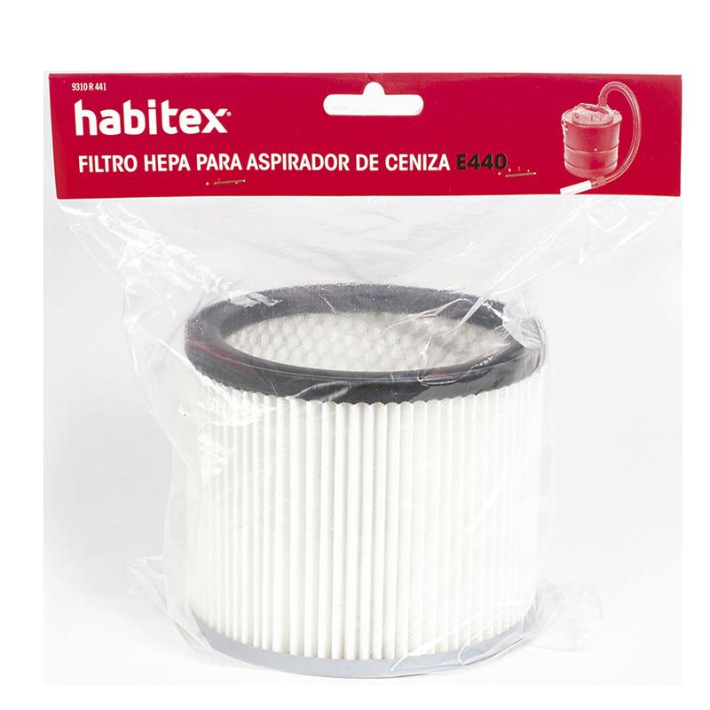 compatible con aspirador de cenizas 9242 Kaminer Filtro Hepa para aspirador de cenizas de repuesto lavable reutilizable