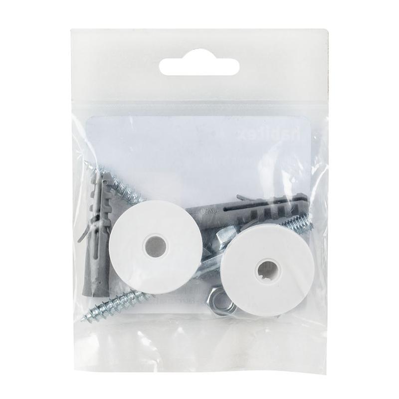 Tornillo fijación lavabos HABITEX acero cincado
