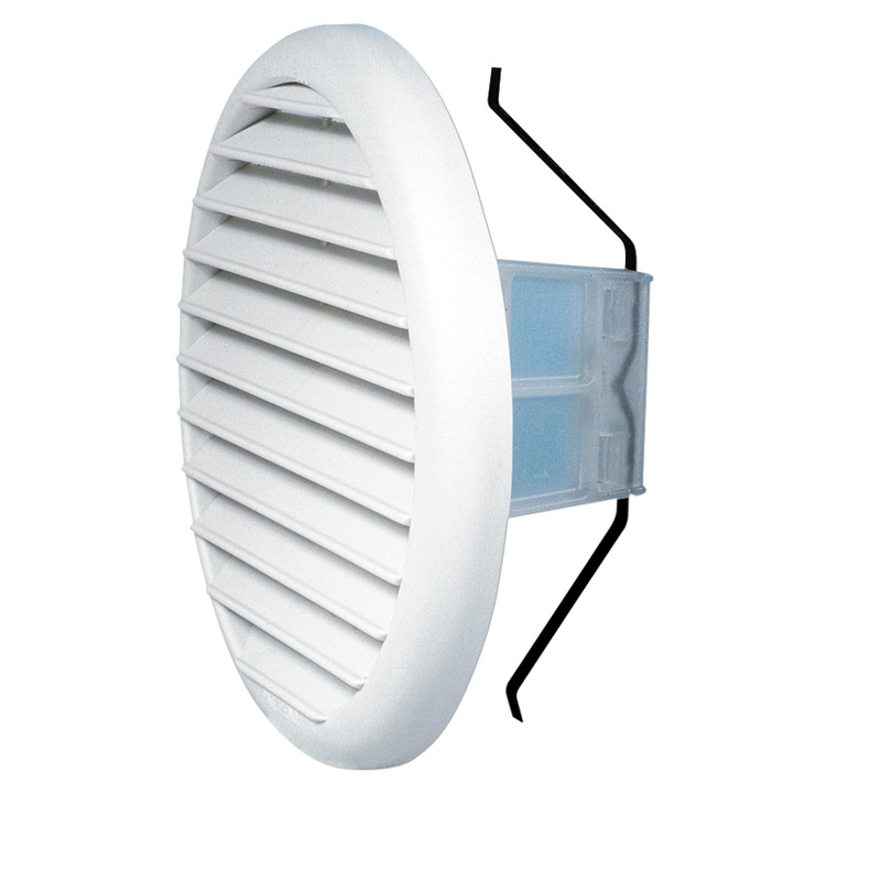 Rejilla ventilación c/muelle HABITEX ø 145mm