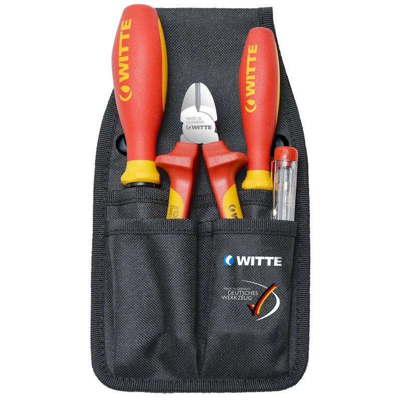 Juego herramientas VDE electricista Witte