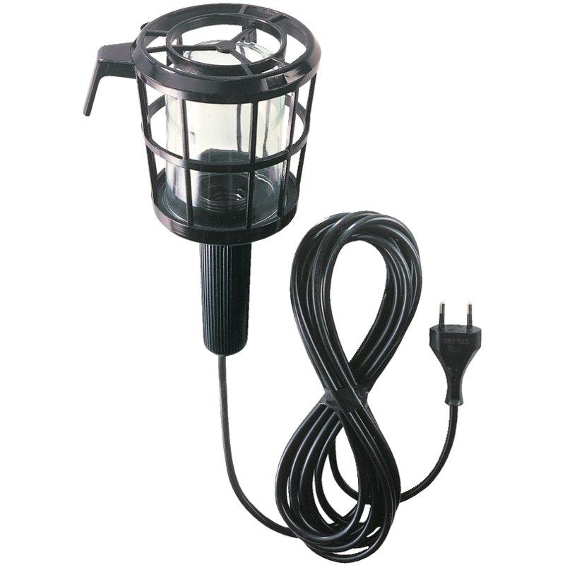 Aplique lámpara de taller con clavija europea (60W) Brennenstuhl