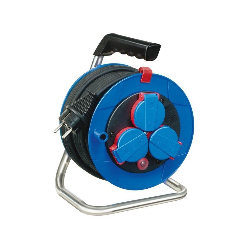 Enrollacables Garant® compacto IP44 Bremaxx® N05V3V3-F 3G1,5 para la industria y construcción Brennenstuhl