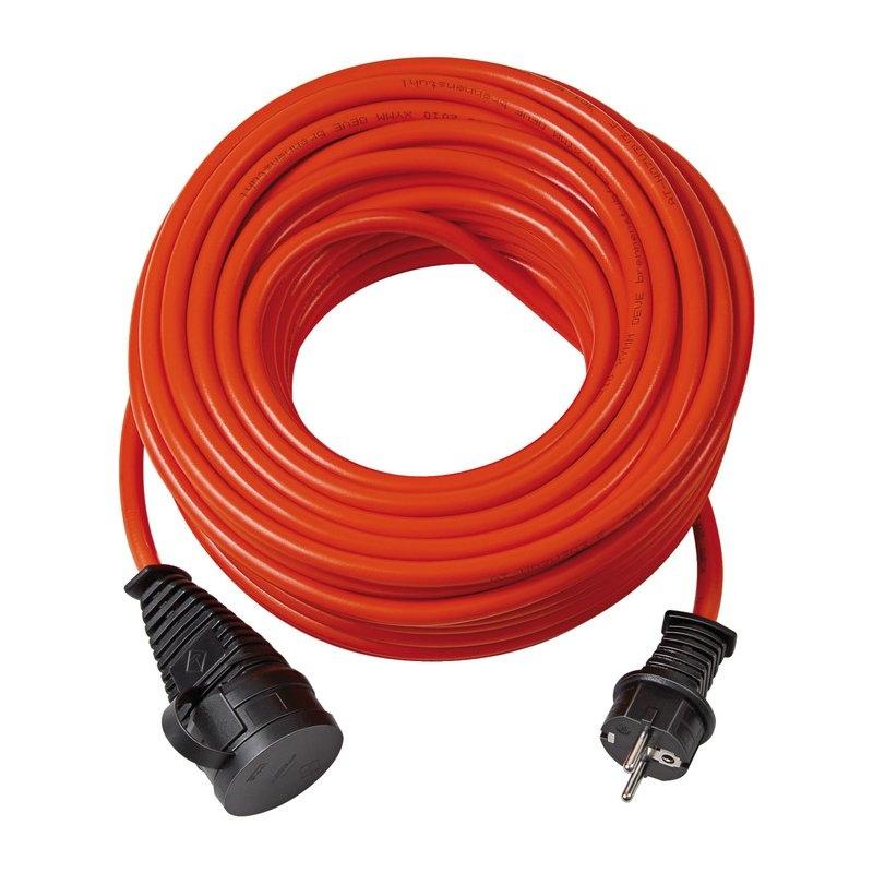 Alargador eléctrico Bremaxx® IP44 naranja AT-N07V3V3-F 3G1,5 para uso industrial y construcción Brennenstuhl