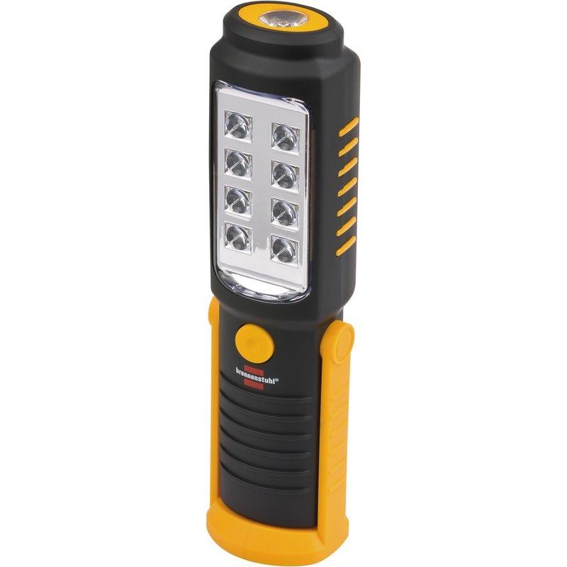 Linterna de trabajo LED universal a pilas HL DB 81 M1H1 (250+100 lm) Brennenstuhl