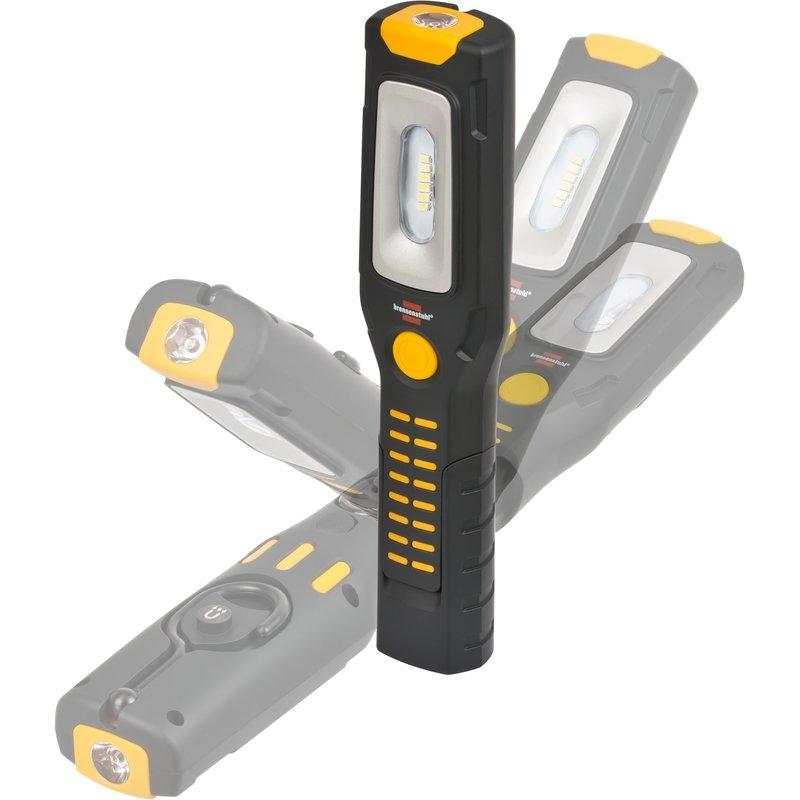 Linterna de trabajo LEDs con batería recargable HL 2 DA 61 M3H2 (300+100 lm) Brennenstuhl