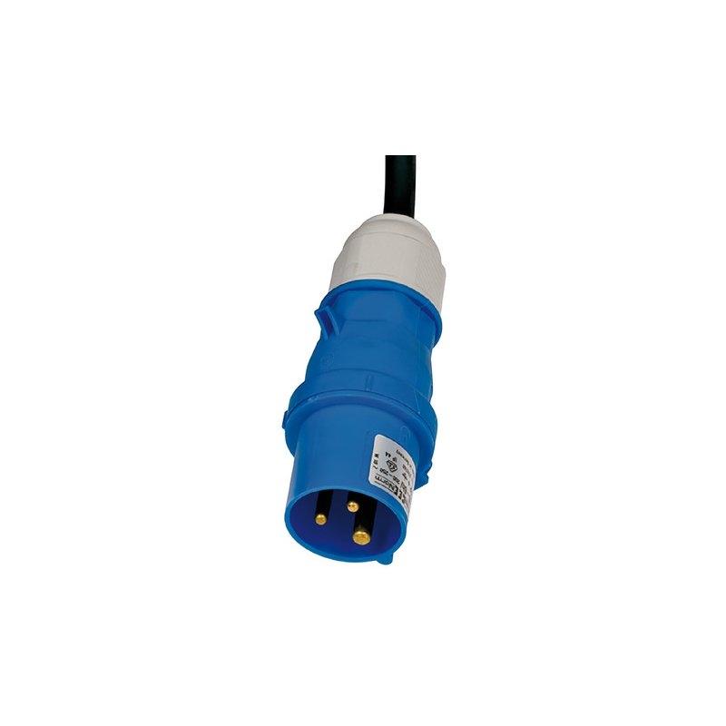Alargador eléctrico IP44 H07RN-F 3G con clavijas y conectores CEE 230V/16A para uso industrial, marítimo y camping Brennenstuhl