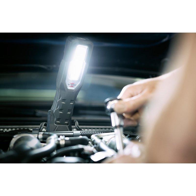 Linterna de trabajo LED con batería recargable HL 1000 AT (1000+200 lm) Brennenstuhl