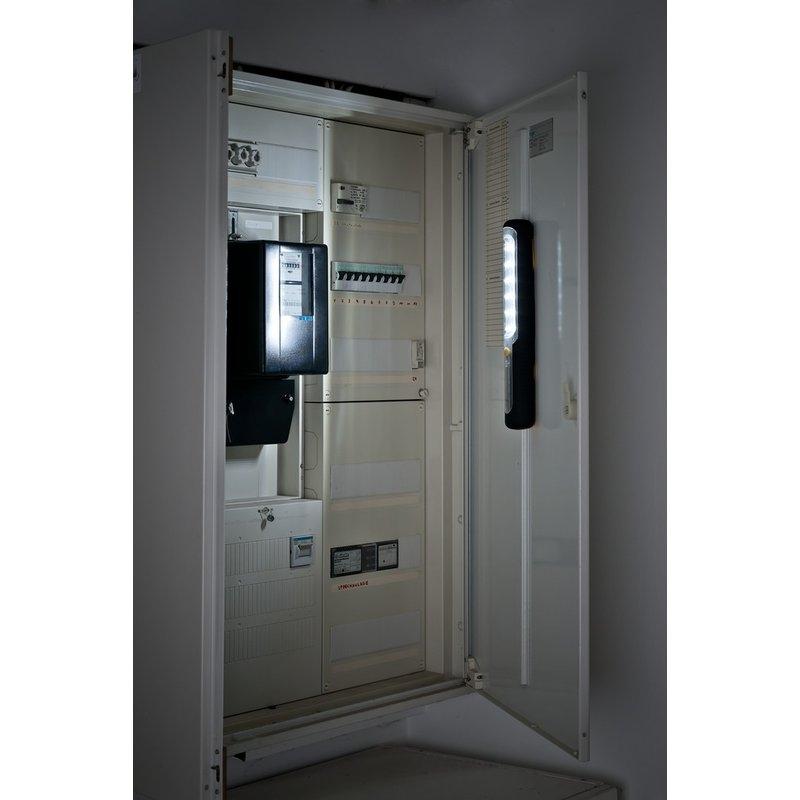 Linterna de trabajo LED con dinamo y batería recargable HL 300 AD (300 lm) Brennenstuhl