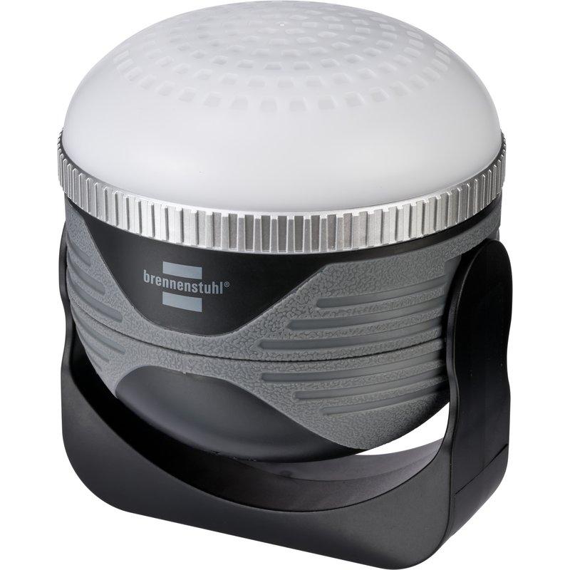Foco LED multifunción outdoor OLI 310 AB y altavoz Bluetooth (350 lm) Brennenstuhl