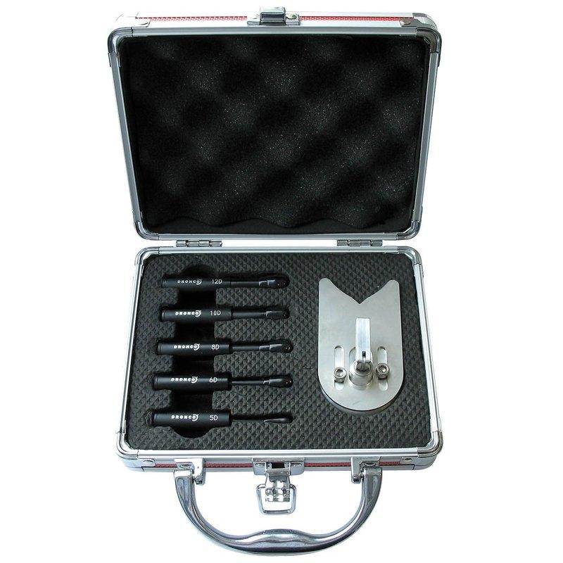 Juego 5 brocas en maletín aluminio CERADRILL  Dronco