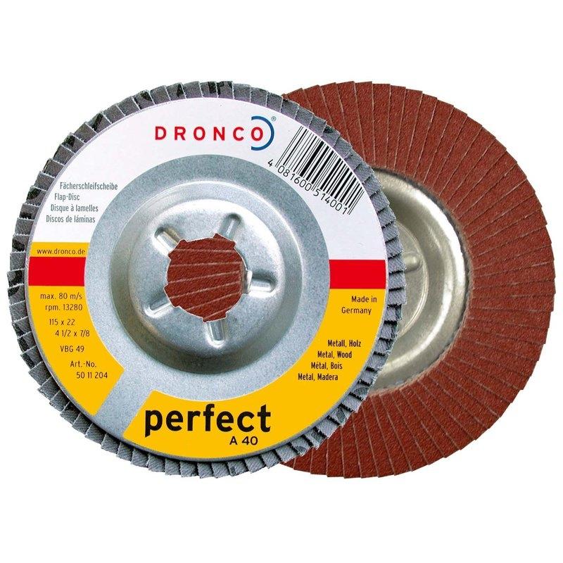 Discos de láminas abrasivas óxido de aluminio A Dronco