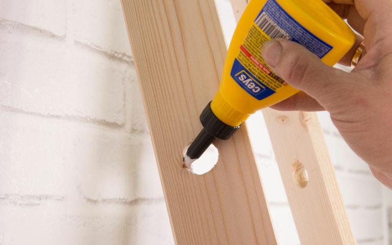 escalera carpintería DIY