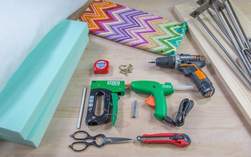 Materiales para hacer banco tapizado