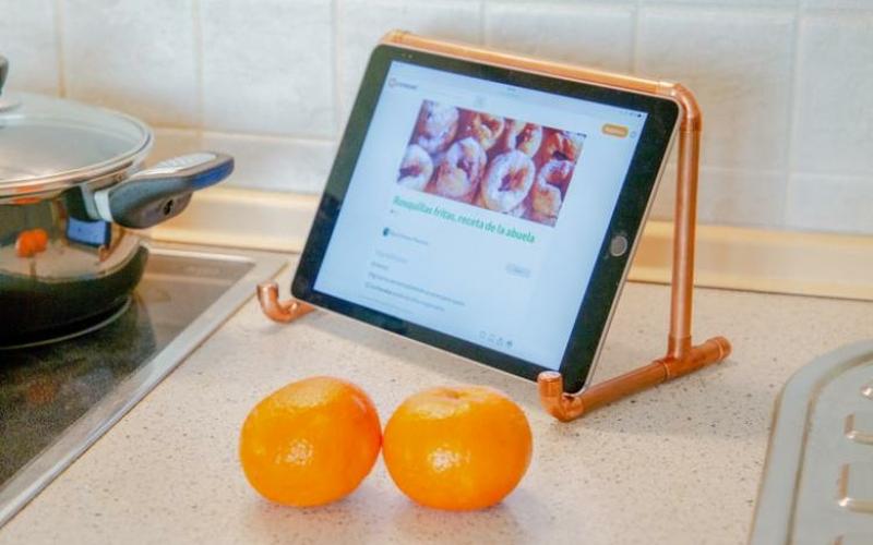 soporte para tablet paso 7