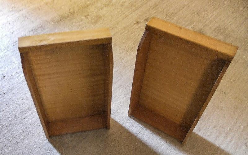 Convertir un cajón en estantería DIY paso 1