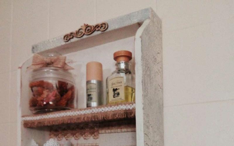 Convertir un cajón en estantería DIY paso 3