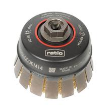 Cepillo abrasivo taza con guarda protectora RATIO ø100 mm ProSerie 1633