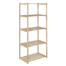 Estantería de madera de 65x40xh.171 cm