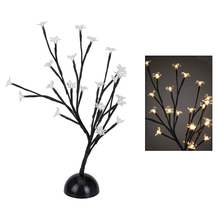 Árbol navideño flores LED 40cm