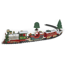 Tren navideño 22 piezas