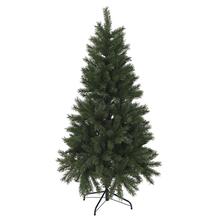 Árbol navidad ramas frondosas